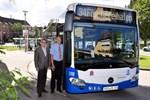 Fünf neue umweltfreundliche Busse für Rostock