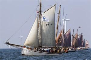 """""""Carmelan"""" feiert Start-Ziel-Sieg bei 9. Haikutter-Regatta (Foto: Herbert Böhm)"""
