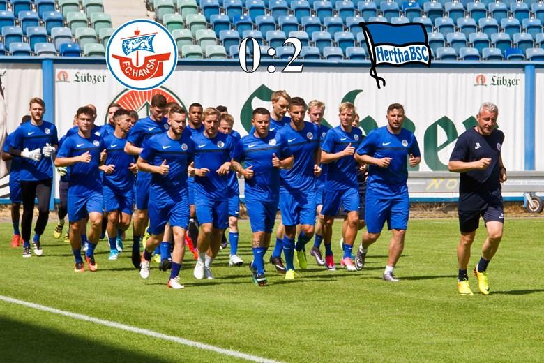 Hansa Rostock unterliegt Hertha BSC im DFB-Pokal