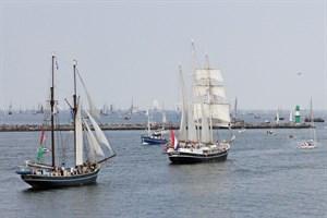 27. Hanse Sail Rostock vom 10. bis 13. August 2017 (Foto: Archiv)