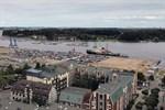 Parkplatz am Rostocker Stadthafen wird gepflastert