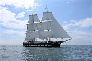 """Die Brigg """"Royalist"""" ist Sieger der Tall Ships Races (Klasse A) und kommt als neuer Gast zur Hanse Sail (Foto: www.ms-sc.org)"""