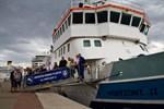 Kreuzschifffahrt-Test im Stadthafen scheitert an Wassertiefe