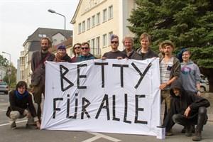 Betty-für-alle-Demo vor dem Studentwerk