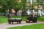 Der Spielplatz im Klostergarten wird erneuert