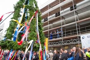 Richtfest für das ZMF der Uniklinik auf dem Campus Schillingallee