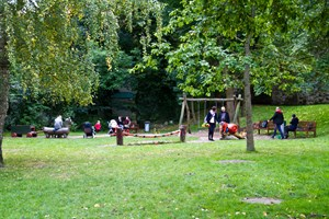 Spielplatz im Klostergarten