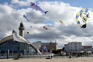 Stromfest und Drachenfest 2017 in Warnemünde