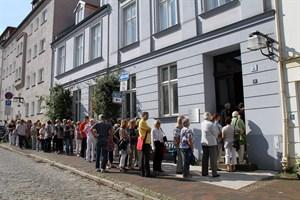 Auch das ehemalige Stadtpalais in der Koßfelderstraße 11 öffnet zum Tag des offenen Denkmals 2017 in Rostock wieder seine Türen (Foto: Archiv)