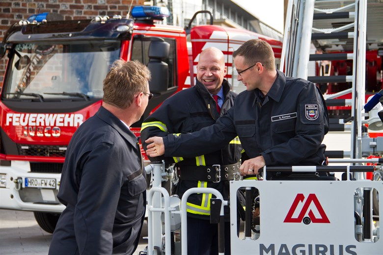 Weltklasse-Technik für Rostocker Brandschützer