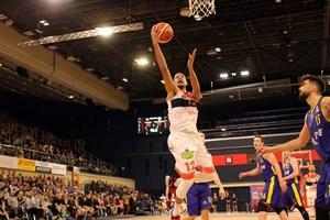Rostock Seawolves besiegen Baskets Akademie Weser-Ems / Oldenburger TB - Darian Cardenas (Foto: Sylvia Funk)