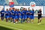 Hansa Rostock besiegt die SpVgg Unterhaching mit 3:0