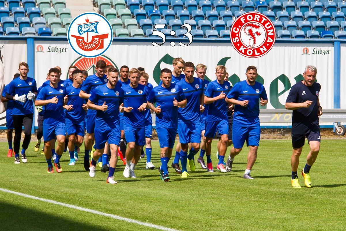 Hansa Rostock Gegen Fortuna Köln