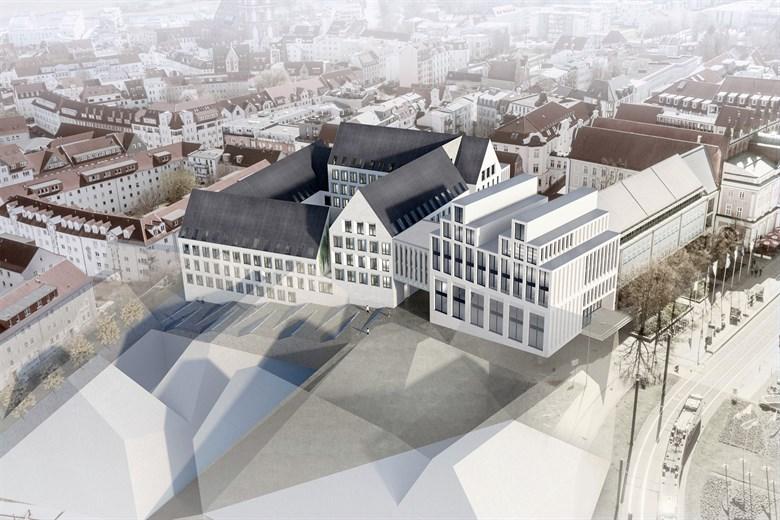 Architekten Rostock rathauserweiterung wettbewerbssieger stehen rostock heute