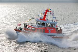 Seenotrettungsboot NIMANOA der Deutschen Gesellschaft zur Rettung Schiffbrüchiger in Warnemünde getauft (Foto: DGzRS – Die Seenotretter)