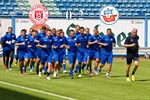 Hansa Rostock besiegt den Halleschen FC mit 2:0 (0:0)