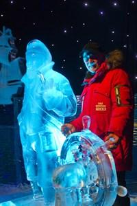 Othmar Schiffer-Belz ist künstlerischer Leiter von Karls Eiswelt