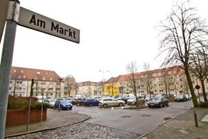 Am Markt in Warnemünde soll eine Tiefgarage gebaut werden