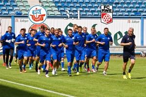 Hansa Rostock besiegt Rot-Weiß Erfurt mit 3:1 (Foto: Archiv)