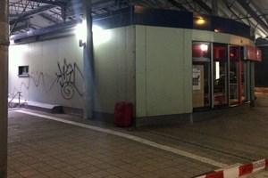 Herrenloser Reisekoffer am S-Bahn Haltepunkt Lütten-Klein löst Polizeieinsatz aus (Foto: Bundespolizeiinspektion Rostock)