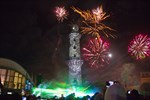 Neujahr 2018 in Warnemünde