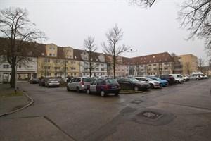 Parkplatz am Markt in Warnemünde