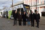 Jubiläumsstraßenbahn für Stadt- und Unigeburtstag