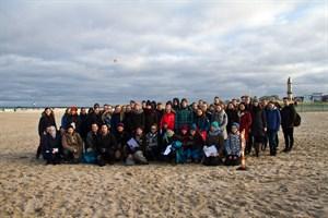 Schüler starten Müllsammelaktion mit dem IOW in Warnemünde