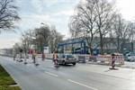 Baustelle in Hamburger Straße führt zu Verkehrseinschränkungen