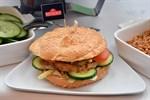 Jubiläumstaler - Burgerkreation für die Uni Rostock