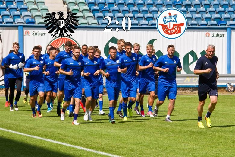 Hansa Rostock unterliegt Preußen Münster mit 0:2 (0:1)