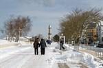 Schnee und Eis in Rostock - Winterdienst läuft auf Hochtouren