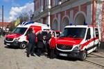 Neue Rettungsfahrzeuge für Rostock
