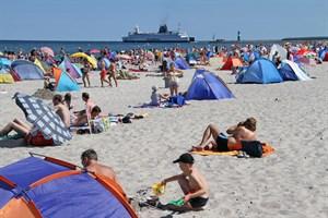 Knapp zwei Mio. Übernachtungen zählte die Tourismusbranche 2017 in Rostock (Foto: Archiv)
