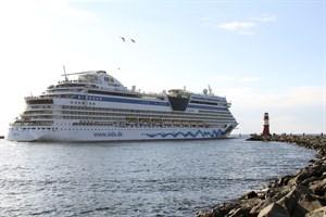 Mit dem Anlauf der AIDAdiva eröffnet AIDA Cruises morgen seine diesjährige Kreuzfahrtsaison in Rostock-Warnemünde (Foto: Archiv)