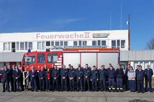 Start der landesweiten Brandmeisterausbildung (Foto: Brandschutz- und Rettungsamt)