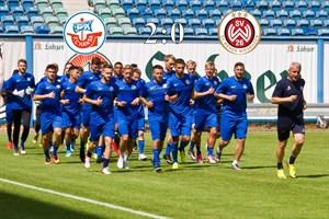 Hansa Rostock besiegt Wehen Wiesbaden mit 2:0 (Foto: Archiv)