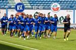 Hansa Rostock und der Karlsruher SC trennen sich torlos
