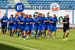 Hansa Rostock und der Karlsruher SC trennen sich torlos (Foto: Archiv)
