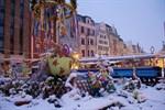 Verkehrsbehinderungen nach Wintereinbruch im Raum Rostock
