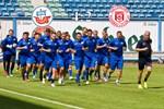 Hansa Rostock besiegt den Halleschen FC mit 4:2