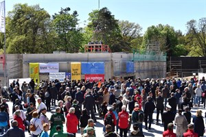 Polarium im Zoo Rostock feiert Richtfest (Foto: Joachim Kloock)