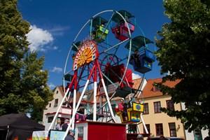 Riesenrad auf dem Alten Markt