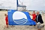 """Auszeichnung """"Blaue Flagge"""" für Rostocker Strände"""