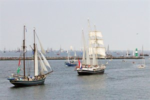 28. Hanse Sail Rostock vom 9. bis 12. August 2018 (Foto: Archiv)