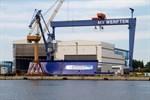 Erste Großsektionen für Mega-Kreuzfahrtschiffe werden in Warnemünde gebaut