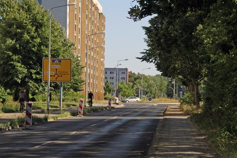 Ostseeallee in Lütten Klein wird zur Baustelle