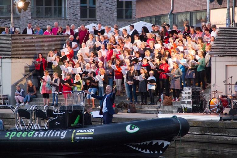 Rostock singt zum 800. Stadtjubiläum