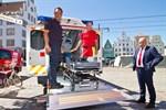 Neuer Schwerlast-Rettungswagen für das Brandschutz- und Rettungsamt