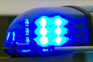 Kradfahrer stürzt auf Rollsplitt in Roggentin